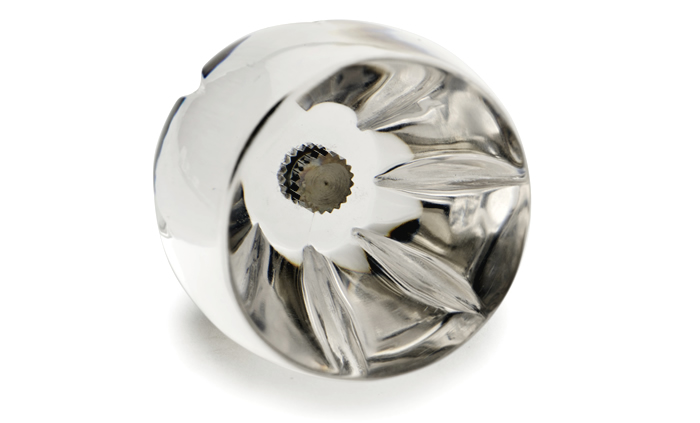 Selection of glass door knobs in contemporary and classic styles